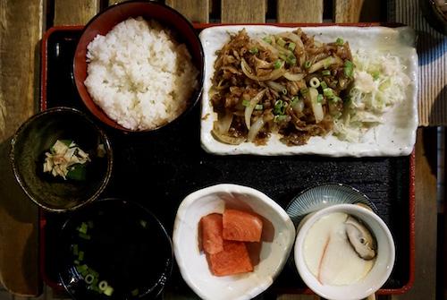Narui my 定食
