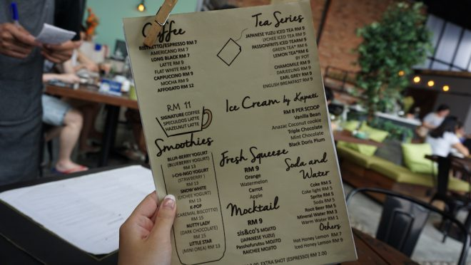 Narui my SIS&CO menu