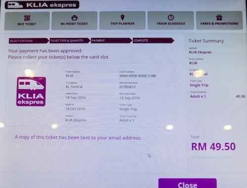 narui my KLIA ticket auto