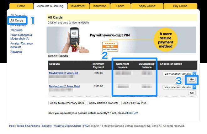 Narui.my Manbank online banking credit card payment 3