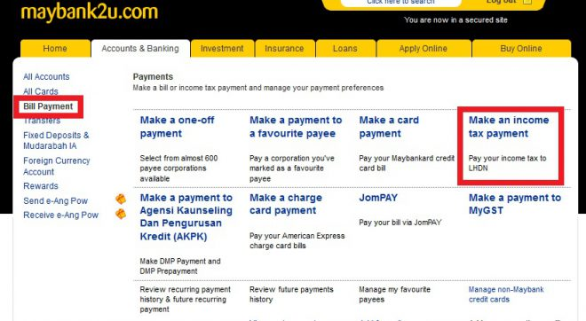 Narui.my Maybank online payment 2