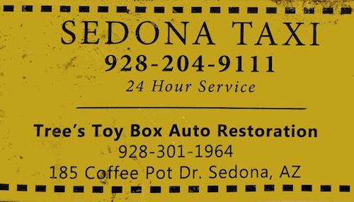 Narui.my Sedona taxi