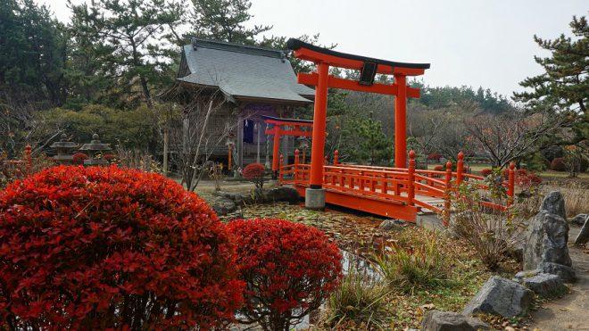 Narui.my 青森県 高山稲荷神社 池