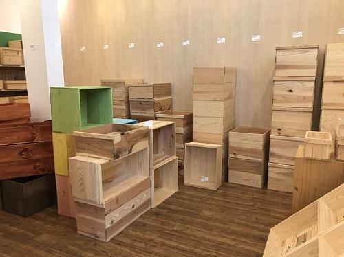 りんご木箱倉庫