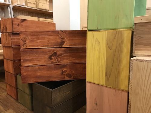 りんご木箱種類