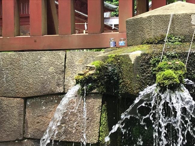岩木山神社 龍首水2
